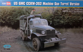 HobbyBoss US GMC CCKW-352 Machine Gun Turret Version 1:35