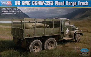 HobbyBoss US GMC CCKW-352 Wood Cargo Truck 1:35
