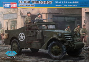 HobbyBoss US M3A1 White Scout Car