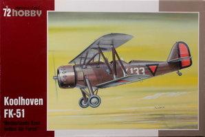 Special Hobby Koolhoven FK-51 1:72