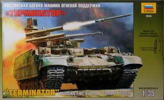 Zvezda Terminator Russian Fire Support Vehicle 1:35