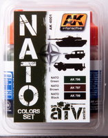 AK AFV Paint NATO Color Set