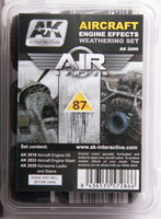 AK Aircraft Engine Effects Weathering Set