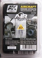 AK Aircraft Engine Effects Weathering Set