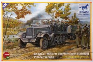 Bronco Sd.Kfz.6 Mittlerer Zugkraftwagen 5t Pioneer Version 1:35