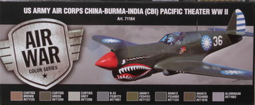 Air War US Army Corps China-Burma-India(CBI) Pacific Theater WW2