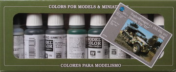 Vallejo Demag D-7 Africa Corps modelcolor set