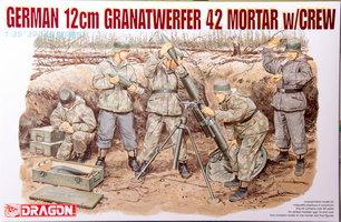 Dragon German 12cm Granatwerfer 42 Mortar w/Crew 1:35