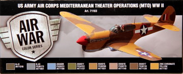 Air War US Army Air Corps Mediterranean Theater Operations(MTO) WW2