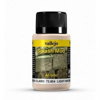 Vallejo Light Brown Splash Mud