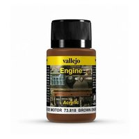 Vallejo Brown Engine Soot
