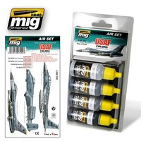 Ammo by Mig Air Set  USAF Colors Grey Modern Jets