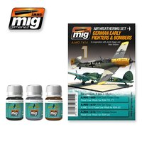 Ammo by Mig Weathering set Early Luftwaffe Fighters&Bombers