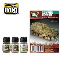 Ammo by Mig  Weathering set Summer Dust