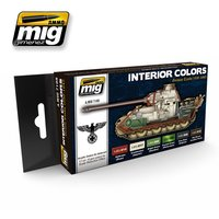 Ammo by Mig  Set  Interior Colors German Tanks 1939-1945