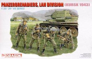Dragon Panzergrenadiers,LAH Division Kursk 1943 1:35