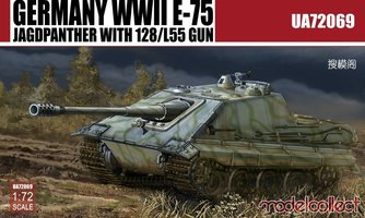 Modelcollect  German WWII E-75 Jagdpanzer   1:72
