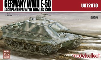 Modelcollect  German WWII E-50 Jagdpanzer   1:72