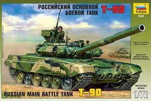 Zvezda Russian Main Battle Tank T-90 1:72