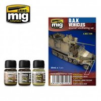 Ammo by Mig  Weathering D.A.K. Vehicles Set