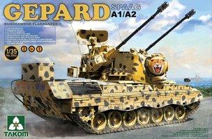 Takom Gepard A1/A2 SPAAG Flakpanzer 1:35