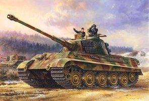MENG Sd.Kfz.182 King Tiger Henschel Turret 1:35