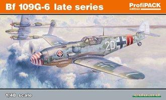 Eduard Messerschmitt Bf 109G-6 Late Series 1:48 ProfiPack