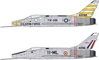 Hasegawa F-100D Super Sabre Combo 1:72