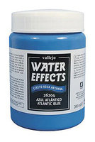 Vallejo Water Stone & Earth; Water Texture Atlantic  Blue 200ml