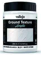 Vallejo Water Stone & Earth; Ground Texture Rough White Pumice 200ml
