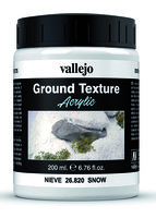 Vallejo Water Stone & Earth; Ground Texture Snow  200ml