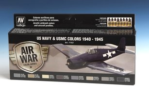 Air War US Navy & USMC Colors 1940-1945
