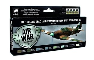 Air War  RAF Colors SEAC(Air Command South East Asia)1942-45