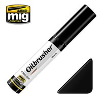 Ammo by Mig Oilbrusher Black 10ml