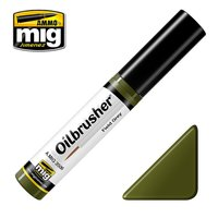 Ammo by Mig Oilbrusher Field Green 10ml