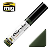 Ammo by Mig Oilbrusher Dark Green 10ml
