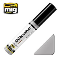Ammo by Mig Oilbrusher Medium Grey 10ml