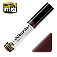 Ammo by Mig Oilbrusher Dark Brown 10ml
