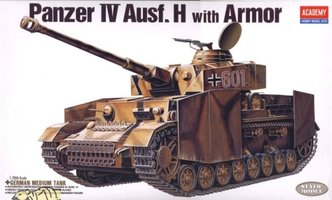 Academy Panzerkampfwagen IV Ausf.H with Armour 1:35