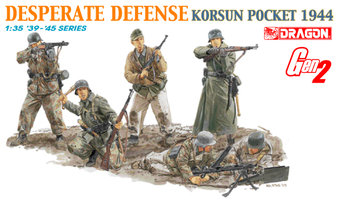 Dragon Desperate Defense Korsun Pocket 1944  1:35