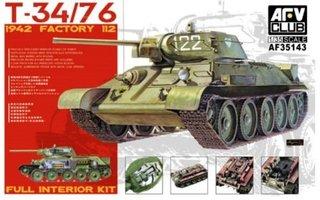 AFV  T-34/76 1942 Factory 112  1:35