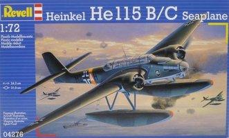 Revell Heinkel He-115B/C Seaplane 1:72
