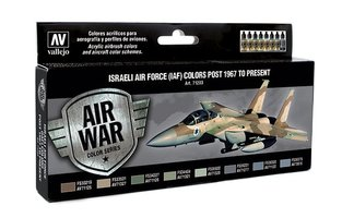 Air War  Israeli Air Force Colors post 1967 to present