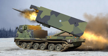 Trumpeter M270/A1 Multiple Launch Rocket System