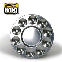 Ammo By Mig  Aluminium Pallet 10 Wells