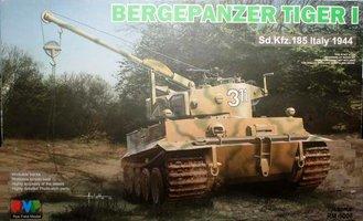 Rye Field Model   Bergepanzer Sd.Kfz.185 Tiger I  1:35