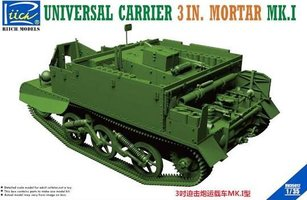 Riich Models Universal Carrier 3 inch Mortar Mk.I  1:35