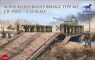 Bronco W.W.II Allied Bailey Bridge Type M2  1:35