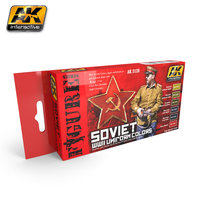 AK Soviet W.W. II  Uniform Colors