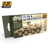 AK AFV Paint Set Iraq and Afghanistan War Colors